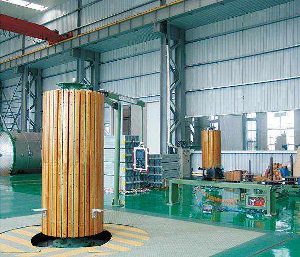 Transformer Vertical Coil Winding Machine